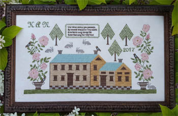 Samplers Not Forgotten ~ Rose Manor