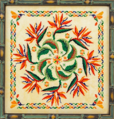 Glendon Place ~ Strelitzia (Bird of Paradise Mandala)