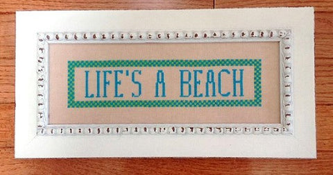 Samplers Revisited ~ Life's A Beach