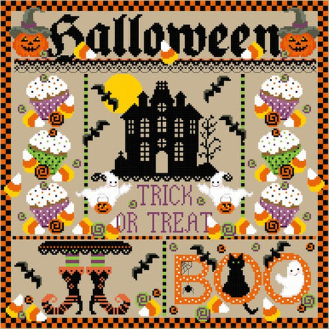 Sugar Stitches Designs ~ Halloween Sampler