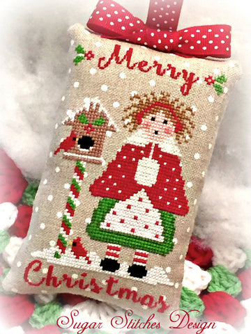 Sugar Stitches Designs ~ Lil' Miss Merry Christmas