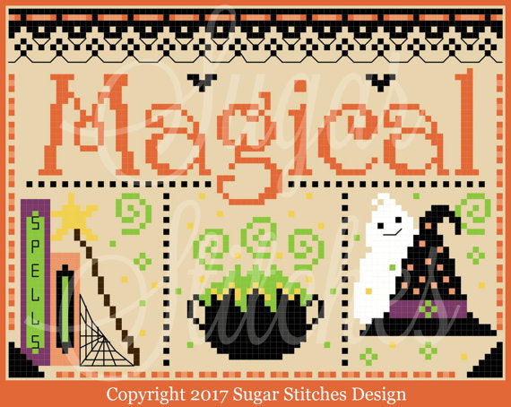 Sugar Stitches Designs ~ Magical Halloween