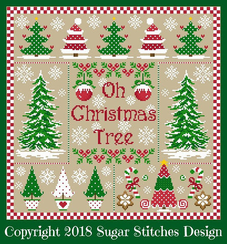 Sugar Stitches Designs ~ Oh Christmas Tree