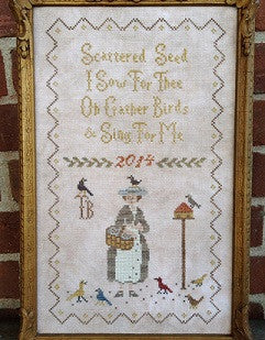 Scattered Seeds Samplers ~ Mary Mustard Seed