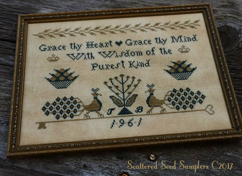 Scattered Seeds Samplers ~ Heart of Wisdom Sampler
