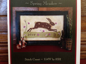 Scattered Seeds Samplers ~ Spring Meadow Sampler