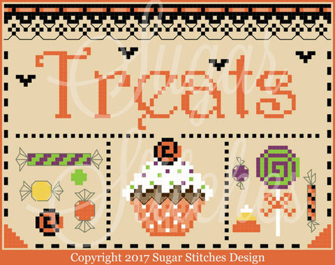 Sugar Stitches Designs ~ Halloween Treats