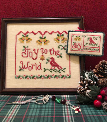ScissorTail Designs ~ Joy To The World