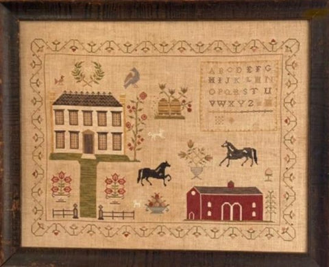 Stacy Nash Primitives ~ The Stables at Hollyberry Farm Sampler