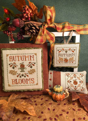 ScissorTail Designs ~ Autumn Blooms
