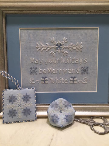 ScissorTail Designs ~ Merry and White