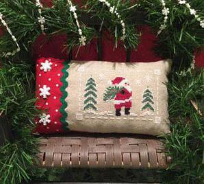 ScissorTail Designs ~ Santa at the Tree Farm