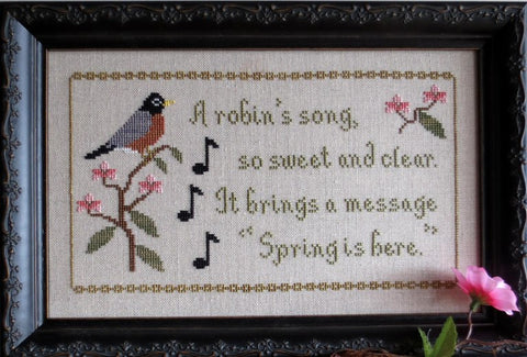 Stitches Through Time ~ Bird of Spring