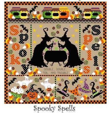 Sugar Stitches Designs ~ Spooky Spells