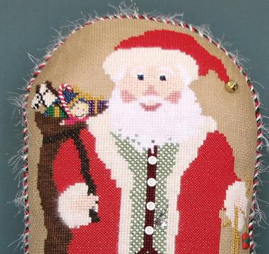 Stitchworks ~ Holiday Stand-Up Santa