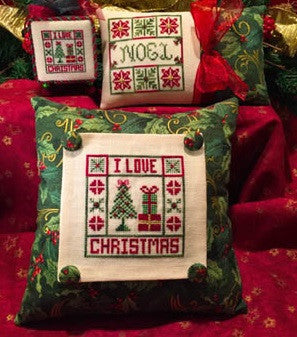 ScissorTail Designs ~ I Love Christmas