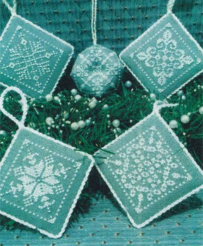 ScissorTail Designs ~ Snowflake Ornaments