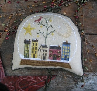 Thistles ~ A Saltbox Christmas Snowglobe