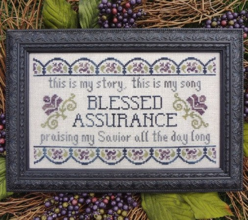 My Big Toe Designs ~ Blessed Assurance