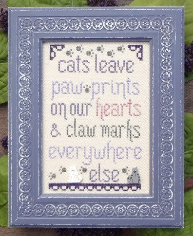 My Big Toe Designs ~ Cats Leave Pawprints