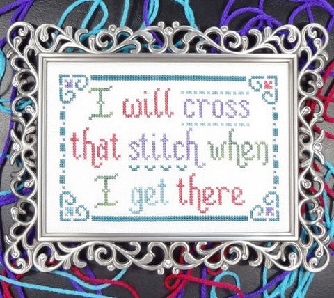 My Big Toe Designs ~ Cross That Stitch