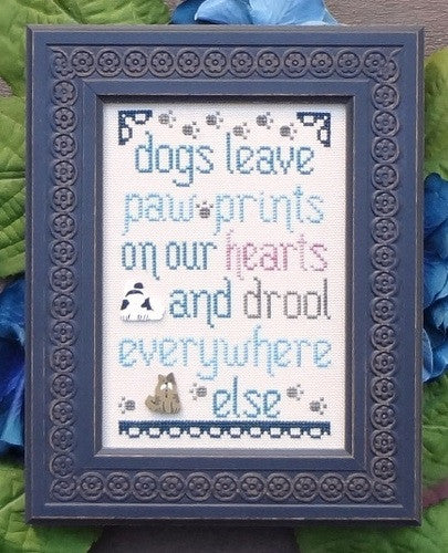 My Big Toe Designs ~ Dogs Leave Pawprints