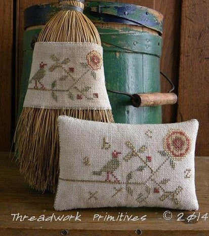 Threadwork Primitives ~ Cottage Rose
