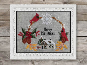 Twin Peak Primitives ~ Christmas Wreath