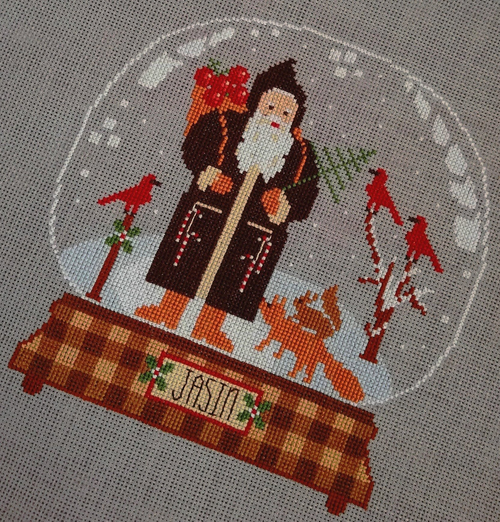 Twin Peak Primitives ~ Rustic Christmas Series Jasin Santa