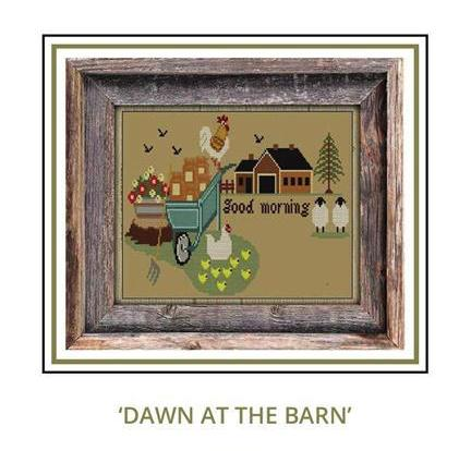 Twin Peak Primitives ~ Dawn at the Barn