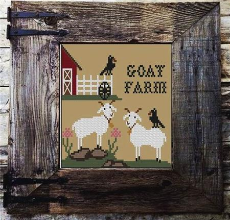 Twin Peak Primitives ~ Goat Farm