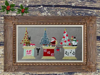Twin Peak Primitives ~ Stitching Christmas
