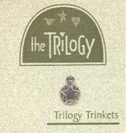 The Trilogy ~ Circle Star Sterling Silver Trinket