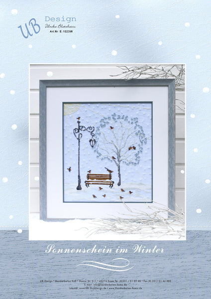 UB Design ~ Sunshine in the Winter - Sonnenschein im Winter