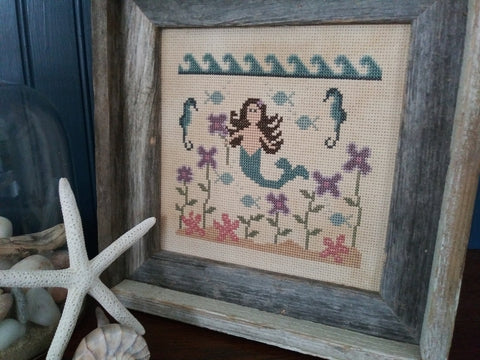 Vintage NeedleArts ~ In A Mermaid's Garden