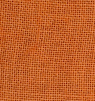 "35ct Weeks Dye Works Linen ~ Pumpkin ~ Fat 1/4 Plus  18 1/2"" X 26"""