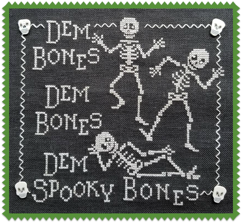 Waxing Moon Designs ~ Dem Bones!