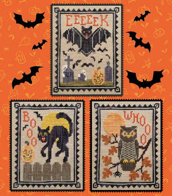 Waxing Moon Designs ~ Halloween Critter Trio
