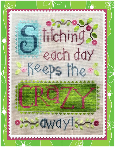 Waxing Moon Designs ~ Stitching Each Day