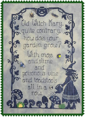 Waxing Moon Designs ~ Old Witch Mary