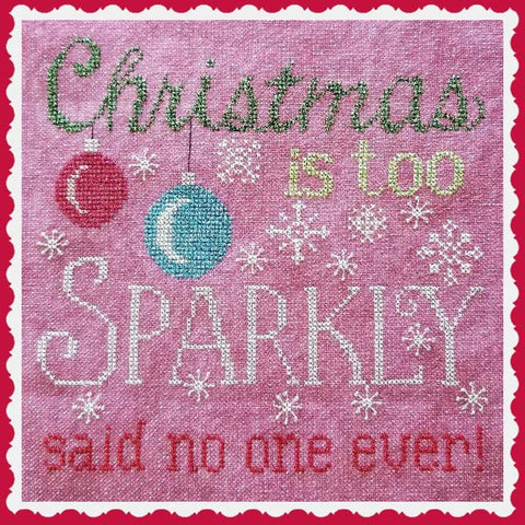 Waxing Moon Designs ~ Sparkly Christmas