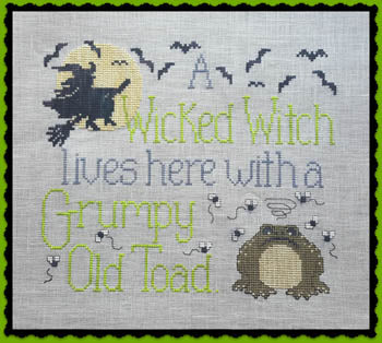 Waxing Moon Designs ~ Wicked Witch & Grumpy Toad