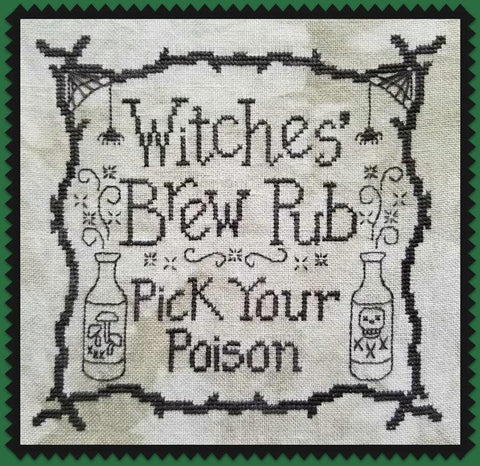 Waxing Moon Designs ~ Witches' Brew Pub - TWO DESIGNS!