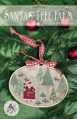 Country Stitches/With Thy Needle & Thread ~ Santa's Tree Farm