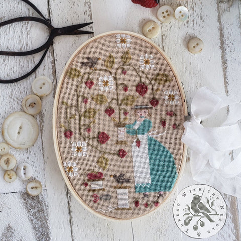 Country Stitches/With Thy Needle & Thread ~ Berry Keeper