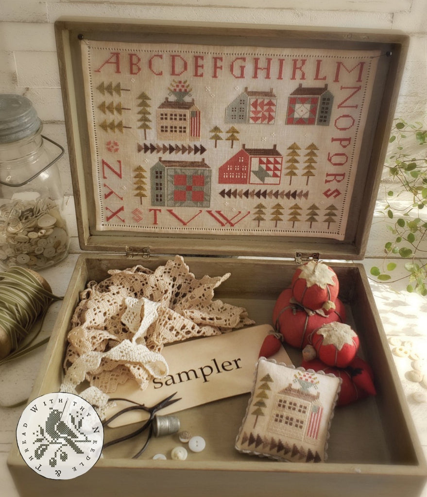 Country Stitches/With Thy Needle & Thread ~ Saltbox Quilt Sampler