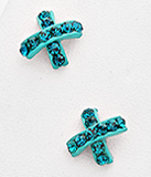X Stitch Earrings (various colors!)