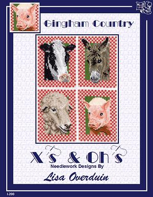 X's & Oh's ~ Gingham Country