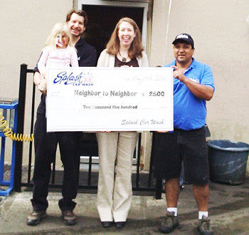 Splash Gives $2,500 to Greenwich Based Neighbor to Neighbor