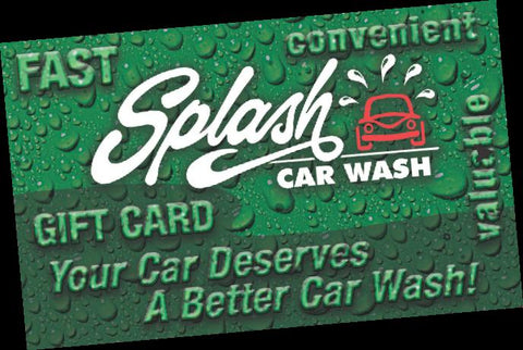 Splash Gift Cards